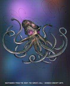 The Kraken wants to meet you! #nightmares #kraken #artifexmundi  www.facebook.com/NightmaresFromTheDeep    http://www.artifexmundi.com/page/piraci2