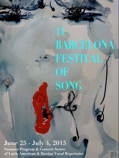 11è Barcelona Festival of Song. Des del 25 de juny fins al 4 de juliol