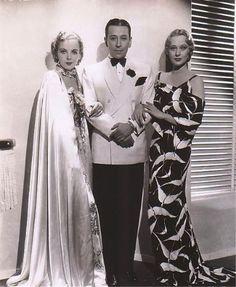 Ida Lupino, George Raft and Dolores Costello