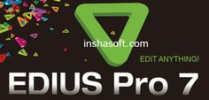 Edius Pro 7 Crack Keygen Plus Serial Number Full Version Download:   Edius Pro 7 Crack Keygen Plus Serial Number is the latest version of graphics tools. It is the world best software. It supp...