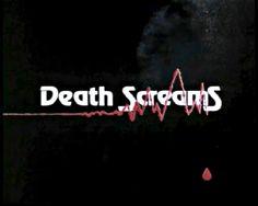 #text #video #screencap #screengrab #vintage #typography #horror #lowresolution #lofi #lowbudget #phrase #expression #DeathScreams #1980s #1981