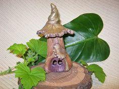 Valentine's Day Gift  OOAK Fairy House / Fairy Garden by cyvonneh, $40.00