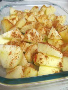 five ingredient apple crisp.