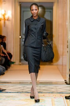 Love this suit from the agnès b. Winter 2011/2012 collection.