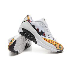 finest selection 5d68c ca8e3 Nike Air Max 90 HYP PRM Dragon and Phoenix Mens Running Shoes White