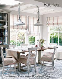 Ian Mankin - natural and organic furnishing fabrics and wallcoverings - Ian Mankin
