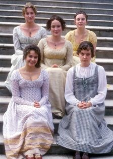 Austen Efforts: Gallery - Pride and Prejudice Colin Firth, Regency Dress, Regency Era, Miss Elizabeth, Elizabeth Bennett, Jennifer Ehle, Jane Austen Movies, Bbc, Mr Darcy