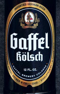 Gaffel Kölsch Beer - Cologne Germany