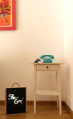 """Caja de luz - Modelo """"The End""""- Chachachá Handmade/ 39,50 Euros"""