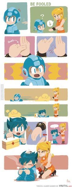 The innocence of Megaman