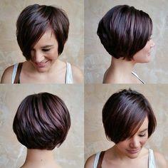 Resultado de imagen de short hair bakc size