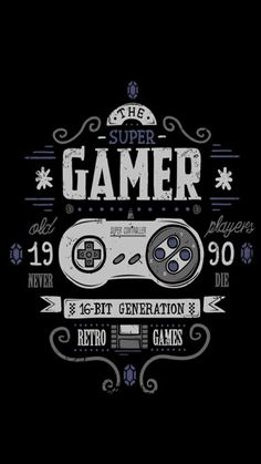 The Super Gamer by Mrz_Hyde on ZEDGE