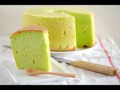 How to Make Super Moist and Fluffy Avocado Chiffon Cake - 超簡単なシフォンケーキの作り方 - 戚風蛋糕製作 - YouTube