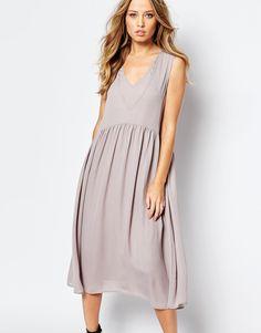Image 1 of Y.A.S Vinc Drop Waist Dress