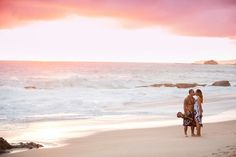 Beach Engagement Photographer based in Inland Empire California | Kirstin Burrows Photography