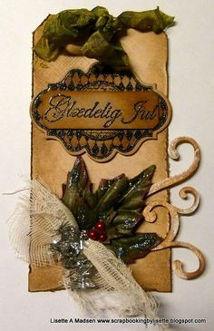 My take on Tim Holtz´s 12 tags for christmas