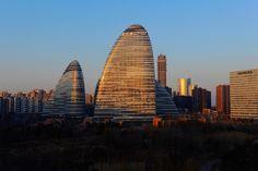 Il Galaxy Soho a Pechino, in Cina, il 4 marzo 2015 (ichpl imaginechina/AP)