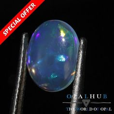 1.05 Cts 100% Natural Ethiopian Welo Fire Opal Cabochon Stone Play Color 4612