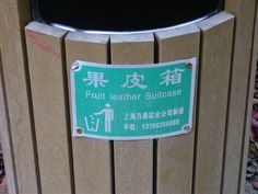 """So THIS is what happens to the suitcases they don't find . . . (From Lonely Planet's """"Lost in Translation"""" series)"""