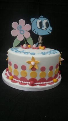 Amazing world of Gumball cake