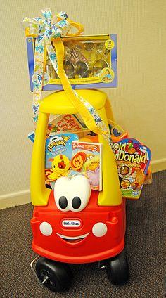 Toddler time auction basket