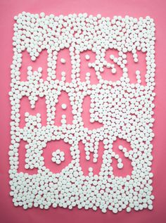 Marshmallows - Candy Isle Crafts