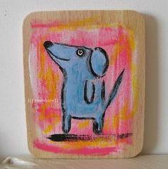 Blaues Hundchen Nr. 2