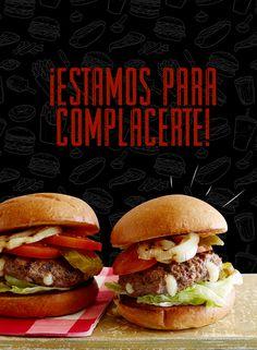 ¡Una hamburguesa rellena es lo que hace falta para darle ánimos a este jueves! Lo que te provoque, a la hora que te provoque y como te provoque ¡En Ají Seco estamos para complacerte!