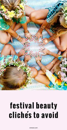 The 5 biggest festival beauty clichés
