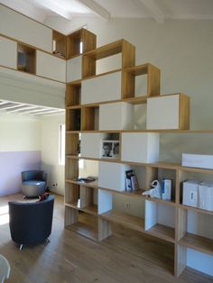 A room divider will maximize the open space in your interior. Check out these wonderful room divider ideas to learn more! Interior, Budget Interior Design, Home Decor, Room Divider, Living Room Inspiration, Home Interior Design, Room Partition Designs, Luxury Rooms, Shelving