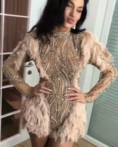 That modern Gatsby Gal! Get my look at slay network  High Fashion Dresses, Sexy Dresses, Evening Dresses, Prom Dresses, Fashion Outfits, Womens Fashion, Beautiful Gowns, Dream Dress, Unique Fashion