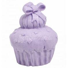 Molde para hacer jabón, Cupcake con Lazo