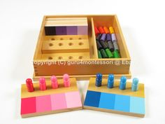 Montessori Sensorial Material Color Resemblance Sorting Task helps in the development of visual discrimination of colour. It is fun and playful. The child acquires sorting and grading skills and learn Color Montessori, Montessori Preschool, Montessori Education, Preschool Curriculum, Montessori Materials, Teaching Kindergarten, Homeschool, Sensory Activities, Preschool Activities