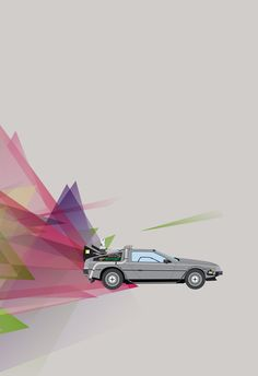 Back to the Future - by Justin Cybulski Available as a print at his Etsy Shop.
