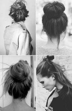 BEAUTY INSPIRATION: HAIR BUNS | Collage Vintage
