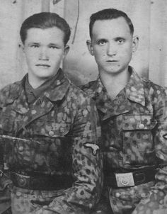 Young Bosnian Waffen-SS soldiers that volunteered in the summer of 1944. They trained with the Kama division, and were later transferred to the Handschar division. Pin by Paolo Marzioli