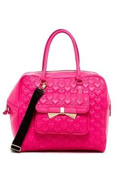 Pink heart Betsey purse Pink Shoulder Bags f1fef06787f8b