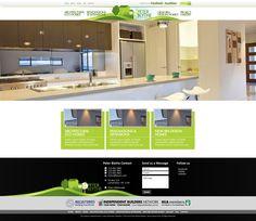 Website design for Peter Blythe.