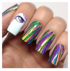 Get ready for the coolest thing to ever happen to your nails! Mystical Mane nail wraps are not for those who like to take the boring road in life. These glossy unicorn nail wraps are like riding a rol