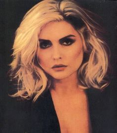 Debbie Harry - best cheekbones in the business x