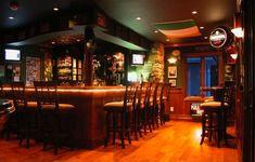 irish home bar | garage converted to irish pub - amazing home bars