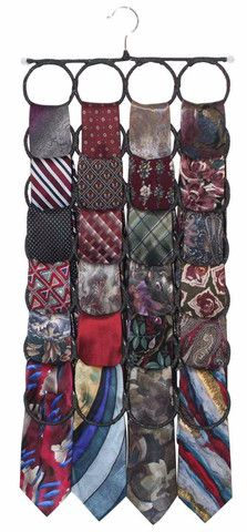 Tie Rack Closet Door Organizer, the No Snags Best Space Saving Scarf Hanger for Infinity Scarves, Pashminas and Ties Scarf Rack, Scarf Hanger, Tie Hanger, Tie Rack, Tie Organization, Bedroom Organization, Organizing, Velvet Hangers, Door Organizer