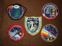 badges of astronauts from nasa - Google Search
