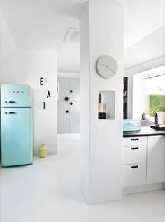 Turquoise SMEG to match my kitchen aid!