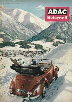 #ADAC #Motorwelt, Januar 1954