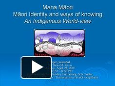 Mana M ori M ori Identity and ways of knowing An Indigenous World-view Paper presented By T nia M. Ppt Presentation, World View, Reading Resources, Identity, Paper, Maori