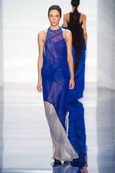 Vera Wang Spring 2014 Ready-to-Wear Runway - Vera Wang Ready-to-Wear Collection