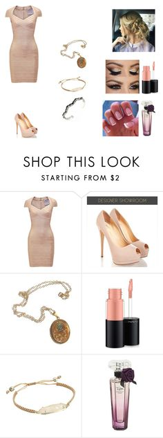 """""""The Hale Twins #27"""" by jazmine-bowman ❤ liked on Polyvore featuring Hervé Léger, Cullen, MAC Cosmetics and Kendra Scott"""