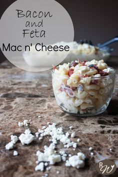 Bacon and Feta Macaroni and Cheese