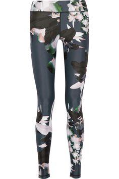 The Upside|Printed stretch-jersey leggings|NET-A-PORTER.COM